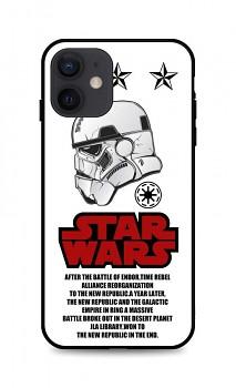 Zadní 3D silikonový kryt na iPhone 12 Star Wars