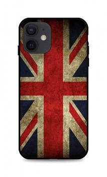 Zadní 3D silikonový kryt na iPhone 12 Anglie