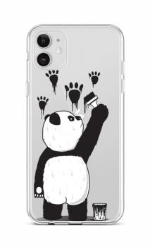Zadní silikonový kryt na iPhone 12 Rebel Panda