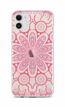 Zadní silikonový kryt na iPhone 12 Romantic Mandala