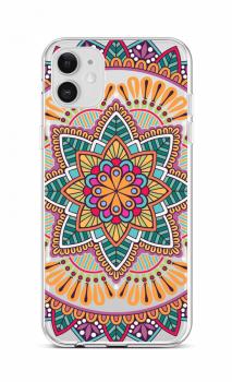Zadní silikonový kryt na iPhone 12 Happy Mandala