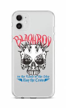 Zadní silikonový kryt na iPhone 12 Black Roy