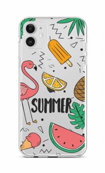 Zadní silikonový kryt na iPhone 12 Summer