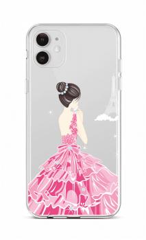 Zadní silikonový kryt na iPhone 12 Pink Princess