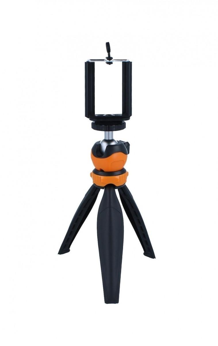 Stativ pro mobilní telefon TopQ Table Top černo-oranžový 55331