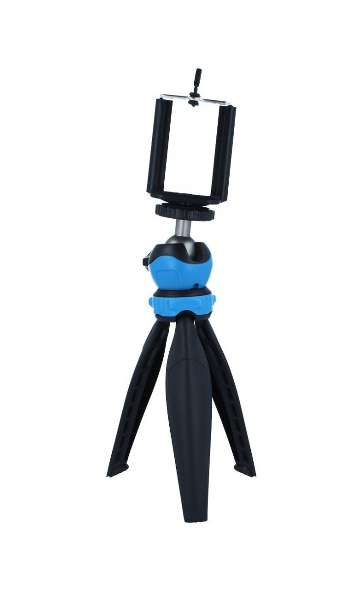 Stativ pro mobilní telefon TopQ Table Top černo-modrý 55332