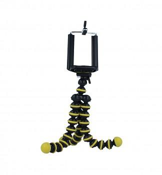 Stativ pro mobilní telefon Ball žlutý