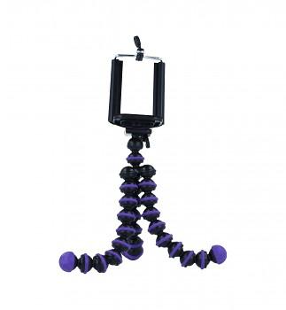 Stativ pro mobilní telefon Ball fialový