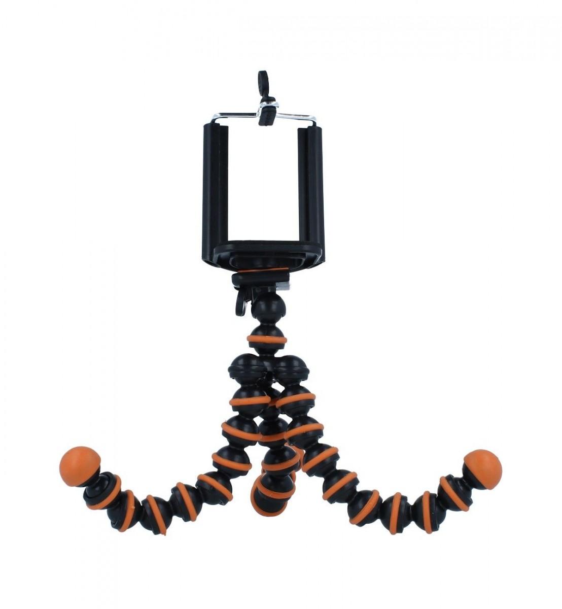 Stativ pro mobilní telefon TopQ Ball oranžový 55350