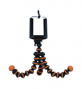 Stativ pro mobilní telefon Ball oranžový