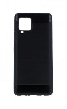 Zadní silikonový kryt na Samsung A42 černý