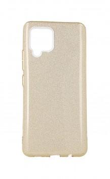 Zadní pevný kryt na Samsung A42 glitter zlatý