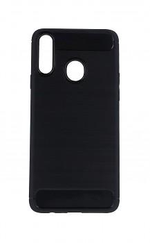Zadní silikonový kryt na Samsung A20s černý