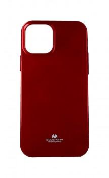 Zadní silikonový kryt Mercury Jelly Case na iPhone 12 červený