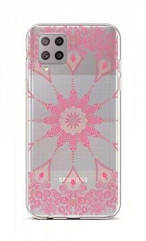 Zadní silikonový kryt na Samsung A42 Pink Mandala