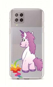 Zadní silikonový kryt na Samsung A42 Rude Unicorn