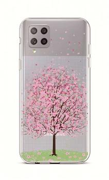 Zadní silikonový kryt na Samsung A42 Blossom Tree