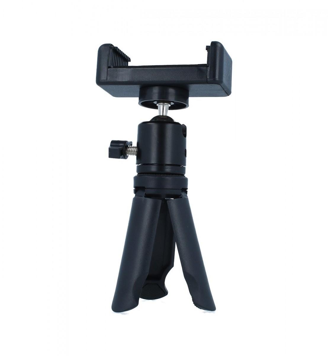 Stativ pro mobilní telefon TopQ Mini Tripod černý 55469