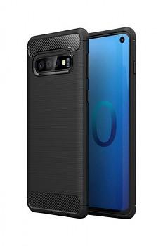 Zadní silikonový kryt na Samsung S10+ černý