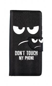 Knížkové pouzdro na Samsung A42 Don't Touch
