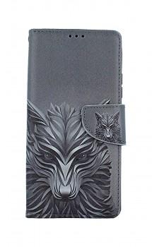 Knížkové pouzdro na Samsung A42 Vlk