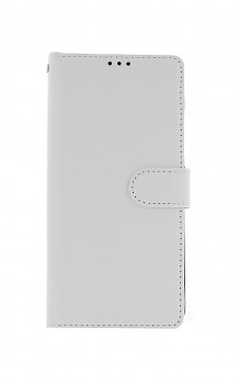 Knížkové pouzdro na Samsung A42 bílé s přezkou