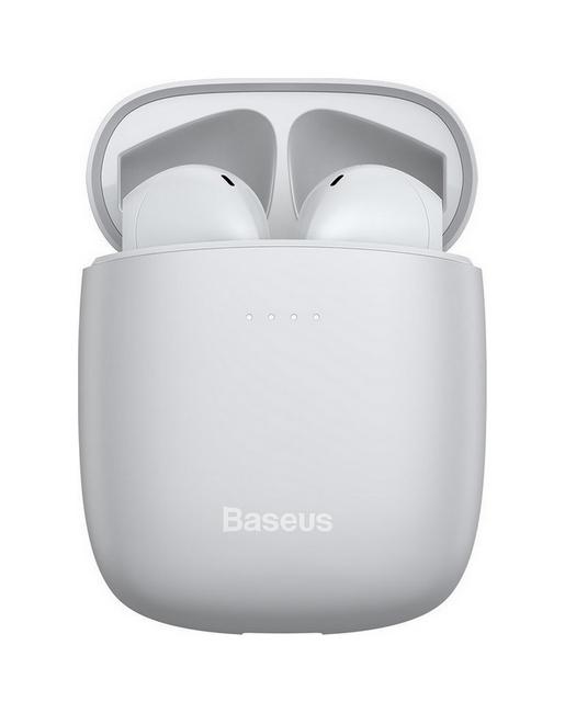 Bezdrátová sluchátka Baseus Encok W04 Pro bílá