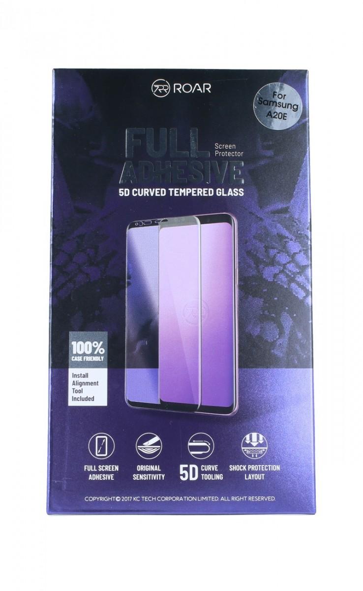 Tvrzené sklo Roar na Samsung A02s 5D černé 55663 (ochranné sklo Samsung A02s)