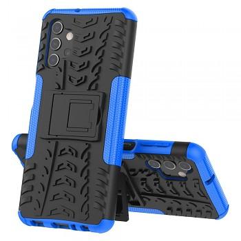 Zadní kryt na Samsung A32 5G modrý se stojánkem