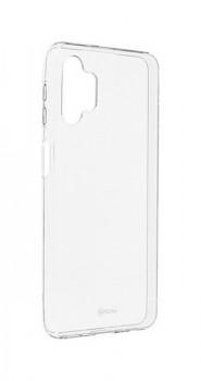 Zadní silikonový kryt Roar na Samsung A32 5G průhledný