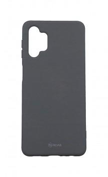 Zadní silikonový kryt Roar na Samsung A32 5G šedý