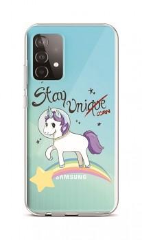 Zadní silikonový kryt na Samsung A52 Stay Unicorn