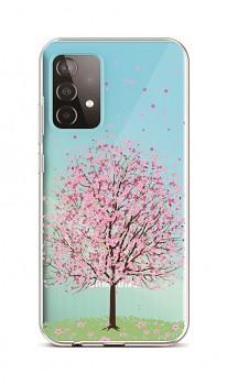 Zadní silikonový kryt na Samsung A52 Blossom Tree