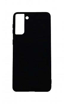 Zadní silikonový kryt Forcell Soft na Samsung S21 Plus černý