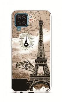 Zadní silikonový kryt na Samsung A12 Paris 2