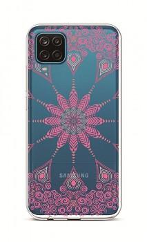 Zadní silikonový kryt na Samsung A12 Pink Mandala