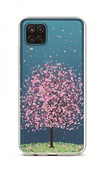 Zadní silikonový kryt na Samsung A12 Blossom Tree
