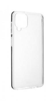 Zadní silikonový kryt na Samsung A12 1 mm průhledný