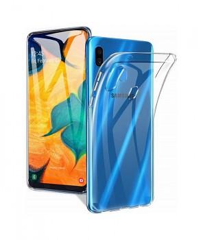 Ultratenký silikonový kryt na Samsung A20e 1 mm průhledný