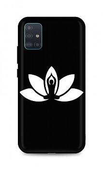 Zadní silikonový kryt DARK na Samsung A51 Yoga