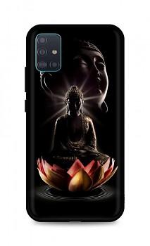 Zadní silikonový kryt DARK na Samsung A51 Meditation