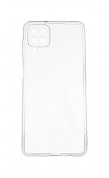 Zadní kryt Swissten Clear Jelly na Samsung A12 průhledný