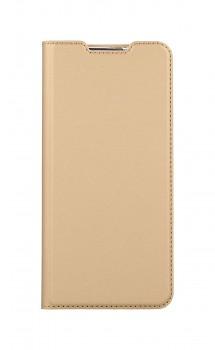 Knížkové pouzdro Dux Ducis na Samsung A12 zlaté