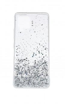 Zadní pevný kryt na Samsung A42 Brilliant Transparent