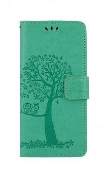 Knížkové pouzdro na Xiaomi Redmi 9C Zelený strom sovičky