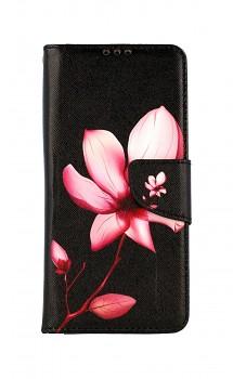Knížkové pouzdro na Xiaomi Redmi 9C Růžový květ