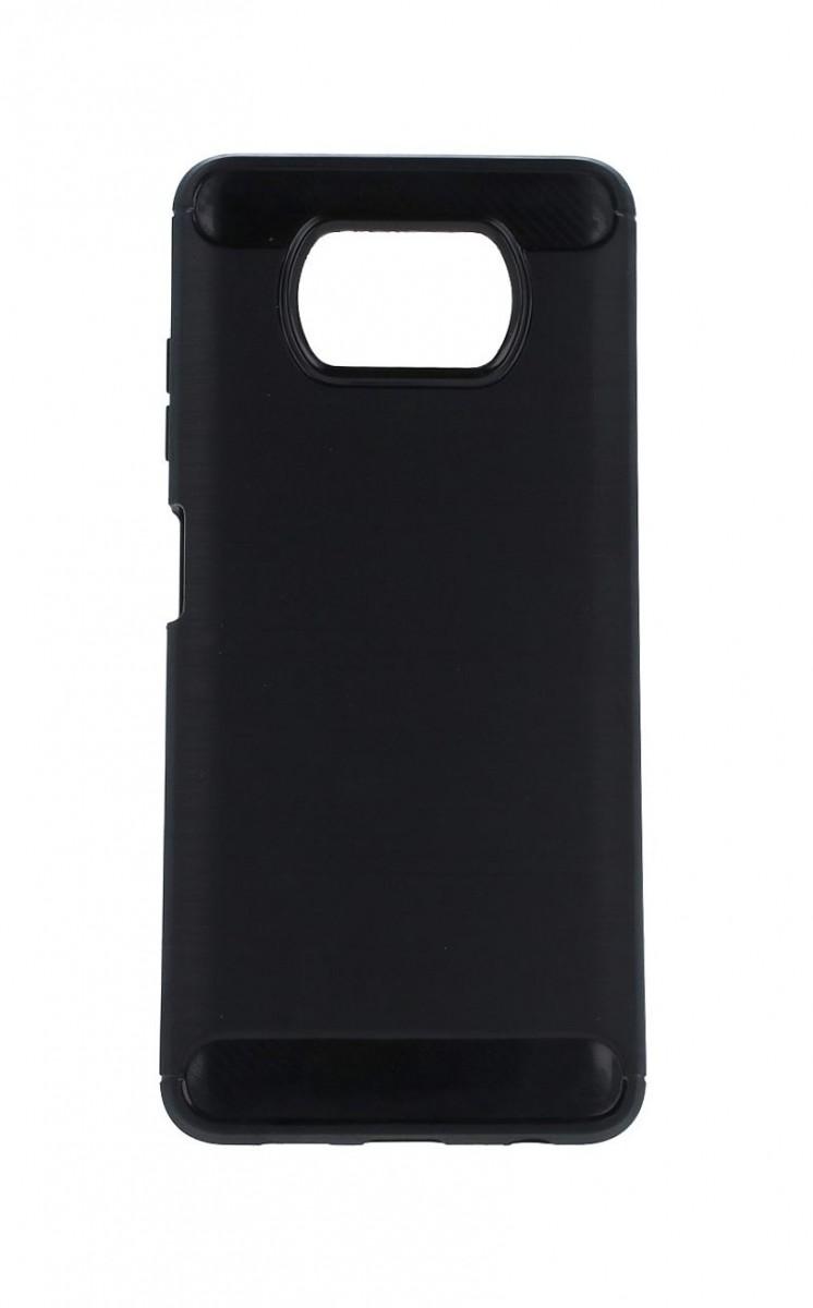 Zadní silikonový kryt na Xiaomi Poco X3 černý