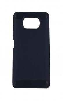 Zadní silikonový kryt na Xiaomi Poco X3 modrý