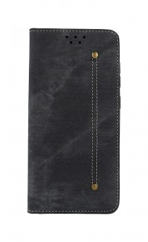 Knížkové pouzdro Wallet na Samsung A21s šedé