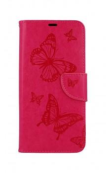 Knížkové pouzdro na Xiaomi Redmi 9C Butterfly růžové